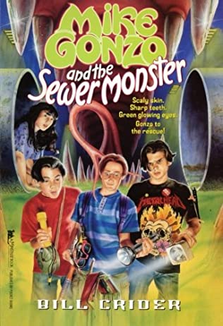 book cover of Mike Gonzo and the Sewer Monster