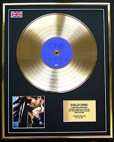 GEORGE MICHAEL/Cd Gold Disc Record Limited Edition/FAITH by