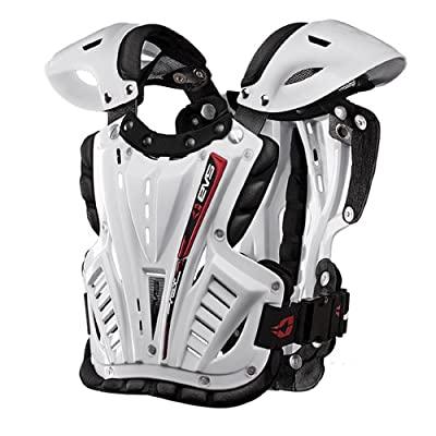 EVS Sports VEX Chest Protector (White/White, Youth Small)