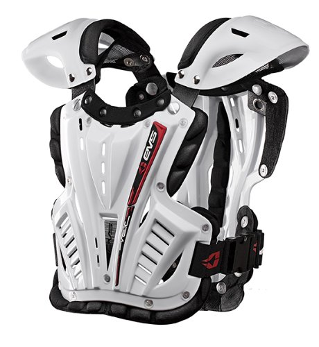 EVS Sports VEXBK-S Clear//Black Youth Small Chest Protector