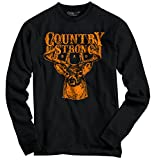 Original Country Strong Brand Deer Hunting Western Gift Ideas Long Sleeve T-Shirt