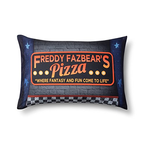 Five Nights at Freddy's Pillow Case (Matt Silver Polyester)