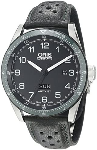 Oris Men s 73577064494LS Analog Display Swiss Automatic Black Watch