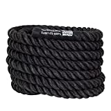 Power Systems Power Training Rope, Black (30-Feet x1.5-Inch Diameter)