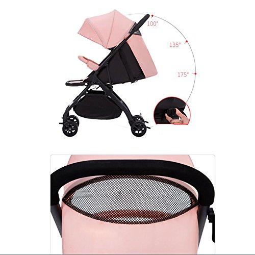 Passeggino Flessibile portatile C Gemellare Twin Split Pieghevole doppio Uso Car Doppio E Estraibile Baby BodeCxr