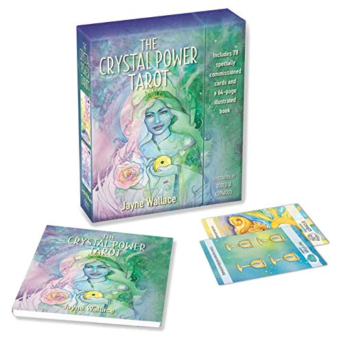 (The Crystal Power Tarot: Includes a full deck of 78 specially commissioned tarot cards and a 64-page illustrated book)