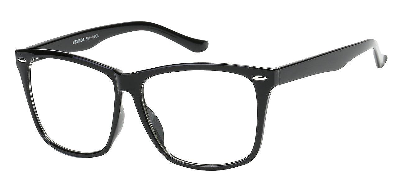 58acc80159f 5zero1 Retro Glasses Big Frame Nerd Party Men Women Classic Eyeglasses  multiple selection all season ...