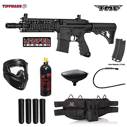 Padded Rifle Deluxe Sling (Tippmann TMC MAGFED Silver Paintball Gun Package - Black/Black)