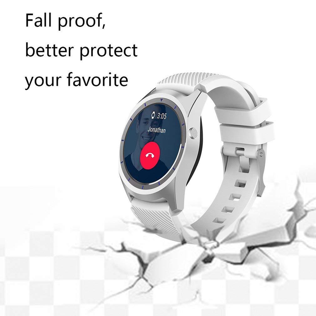 para Zte Quartz Smart Watch Correa de Silicona de Color sólido ...