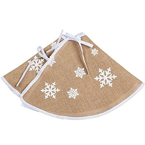 4 Aytai Christmas Snowflake Printed Decorations