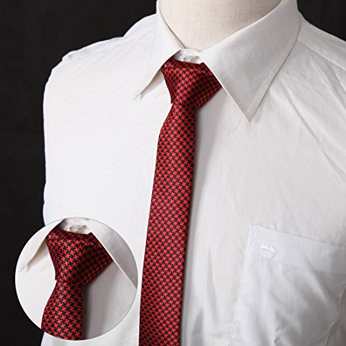 DANF0048 Various Colors Polyester Slim Ties Love Shopstyle Skinny Ties - 5 Styles Available Selection Accessories By Dan Smith by Dan Smith (Image #1)