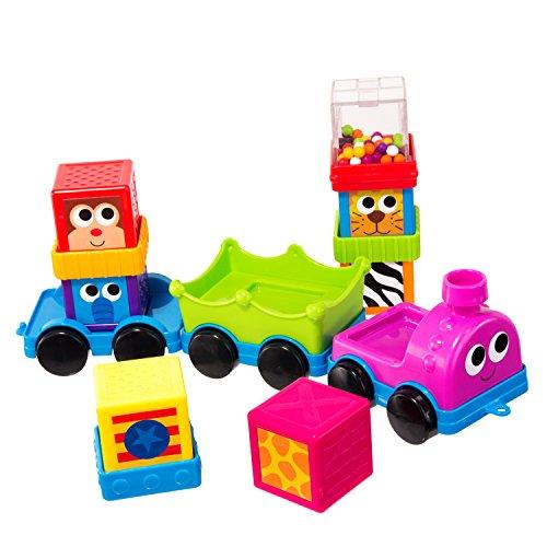 Sassy Zoomin Train Yard Sensory Blocks