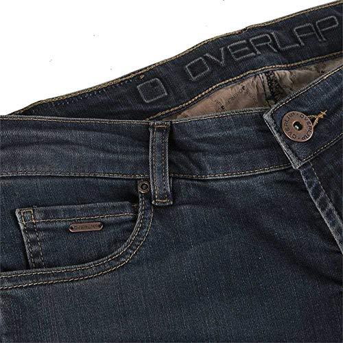 Homologue Mujer azul Donington Talla Ruta 30 Jeans Overlap Gris q7gzcfWtgS