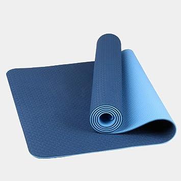 BLTX Esterilla De Yoga Gruesa, Alfombras De Reversible ...