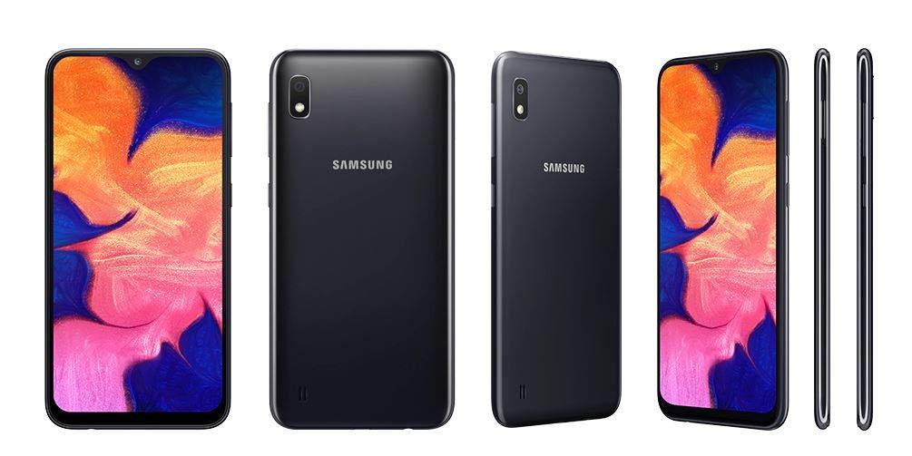 Samsung Galaxy A10 32GB A105G/DS LTE Unlocked GSM 6.2'' HD+ Smartphone - International Version, No Warranty (Black)