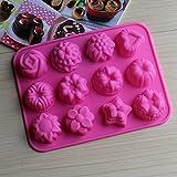 Hanseatic Consumables 12er Mini Muffin Backform 25x17x2cm Antihaftbeschichtet 100% BPA freies Lebensmittel Geschmackneutral 2 Jahre Garantie