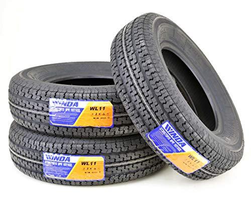 (3 New Premium WINDA Trailer Tires ST 205 75R15 / 8PR Load Range D Steel Belted Radial)