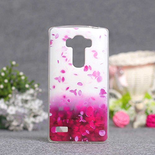 LG G4S(G4 Beat) Case, Tomyou 3D Emboss Pattern Beautiful Flower TPU Soft Case Rubber Silicone Skin Cover for LG G4S(G4 Beat)