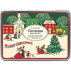 Cavallini Papers & Co Vintage Christmas Mailing Set