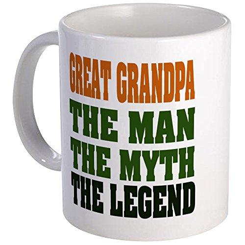 CafePress Great Grandpa - The Legend Mug Unique Coffee Mug, Coffee (Best Cafepress Great Grandpas)