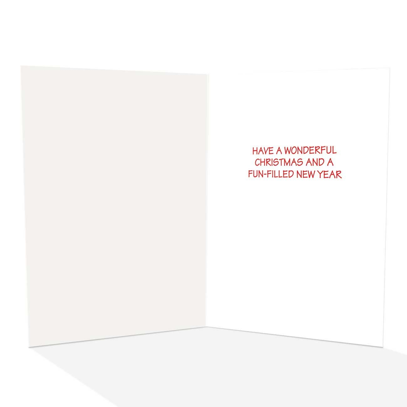 Amazon.com: Snow Angels Christmas Cards - Humorous 18 Boxed ...