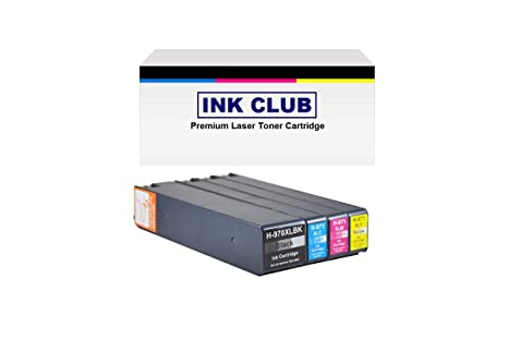 Amazon.com: InkClub Reman. 970 X L (cn625am) Negro, 971 X L ...