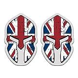 union jack helmet - British Union Jack Flag Spartan Helmet 3