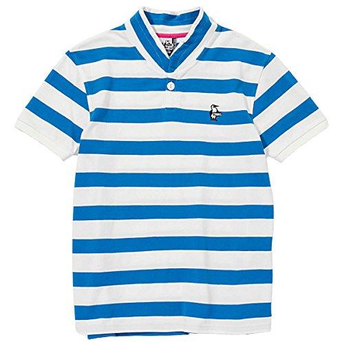 (チャムス) CHUMS Booby Border Shawl Polo Shirt ショール襟 ポロシャツ