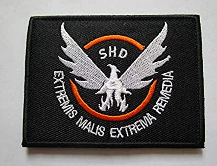 1b7d40c5f5d1 Amazon.com: The Division Agent SHD Military Patch Fabric Embroidered ...