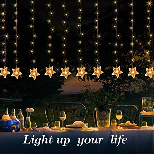 Led Icicle Curtain Lights in US - 9
