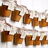 East of India Rusty Bucket Advent Calendar