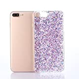 For IPhone 7 Plus Case Sinfu Bling Bling Shockproof Soft Silicone Protective Case Cover (D)