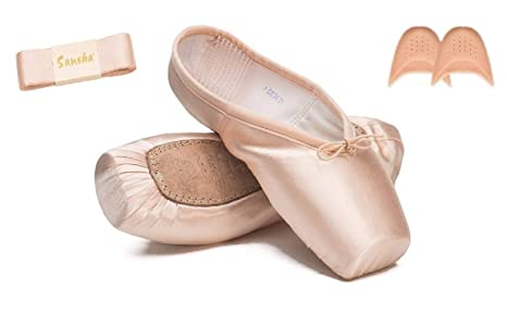 in stock get new stable quality Buy The Dance Bible Sansha Professional Toe Ballet Pointe Shoes ...