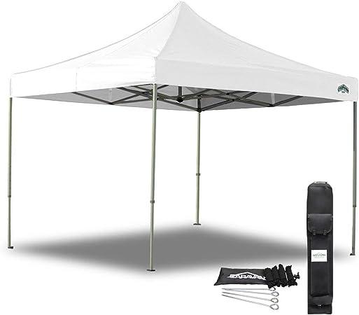 Caravan 10 X 10 Aluma Commercial Grade Canopy Value Package 4