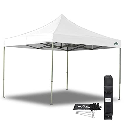 Amazon.com  Caravan Canopy 21003306011 10 X 10 Foot Straight Leg Display Shade Commercial White Canopy 10 by 10  Outdoor Canopies  Garden u0026 Outdoor  sc 1 st  Amazon.com & Amazon.com : Caravan Canopy 21003306011 10 X 10 Foot Straight Leg ...