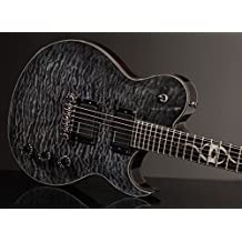 Ethan Hart Guitar - Trans Black - Off-Set Single Cutaway