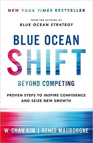 amazon blue ocean shift beyond competing proven steps to