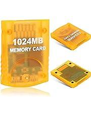 1024MB(16344 Blocks) Gamecube Memory Card for Nintendo Wii Game Cube NGC GC