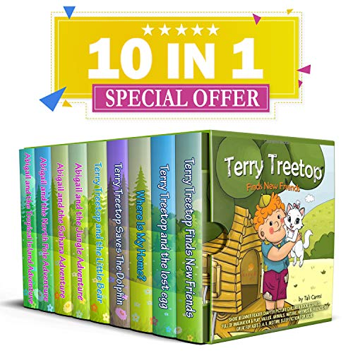 Collection Toddler (The Terry Treetop & Abigail Book Collection: Short beginner reader chapter picture children book stories.full of Imagination & play, values, animals, rhyming & Friendship.: Great for ages 3 ,4 ,5)