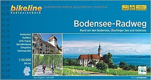 Bikeline Radtourenbuch Bodensee Radweg Rund Um Den Bodensee