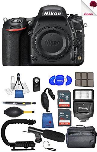 Nikon D750 DSLR Camera  Black 1543  - Full Accessory Video B