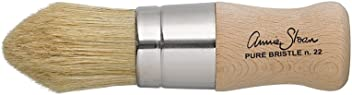 Annie Sloan Wax Brush - Chalk Paint (R) Wax - Soft Wax - Small - Use on Furniture, Accessories, Home Decor, Floors, cabinets and Walls