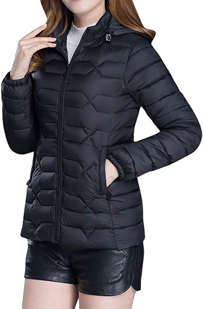 amazon chaqueta plumifero mujer