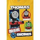 Thomas & Friends Boys Short Sleeve Tee (Toddler/Little Kid)