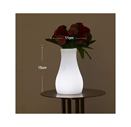 Amazon.com: PPWAN Desk Lamp Light Vase Lamp Table Lamp Remote Control Colorful Bar Reading Lampled Charging Decoration Restaurant Bar -2835 Table lamp ...