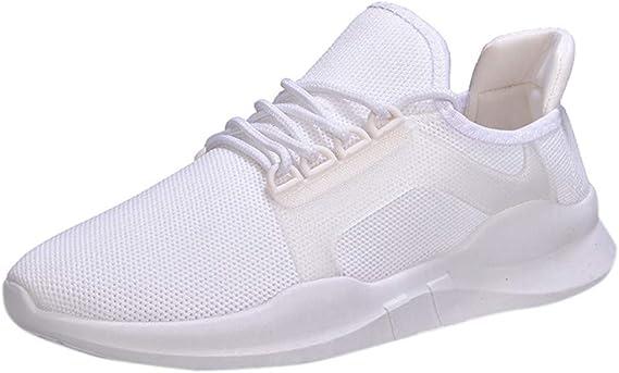 AG&T Zapatillas de Deporte de Mujer con Fondo Plano, Zapatos Bajos, Transpirables, Zapatos Solos Casuales, Malla Ligera, Zapatillas Deportivas: Amazon.es: Deportes y aire libre