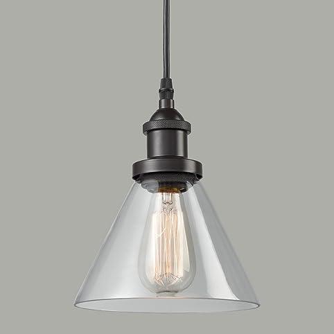 claxy ecopower antique industrial mini glass pendant lighting 1light oilrubbed bronze fixture
