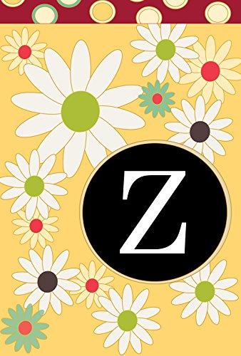 - Toland Home Garden Floral Monogram Z 12.5 x 18 Inch Decorative Spring Summer Flower Initial Garden Flag