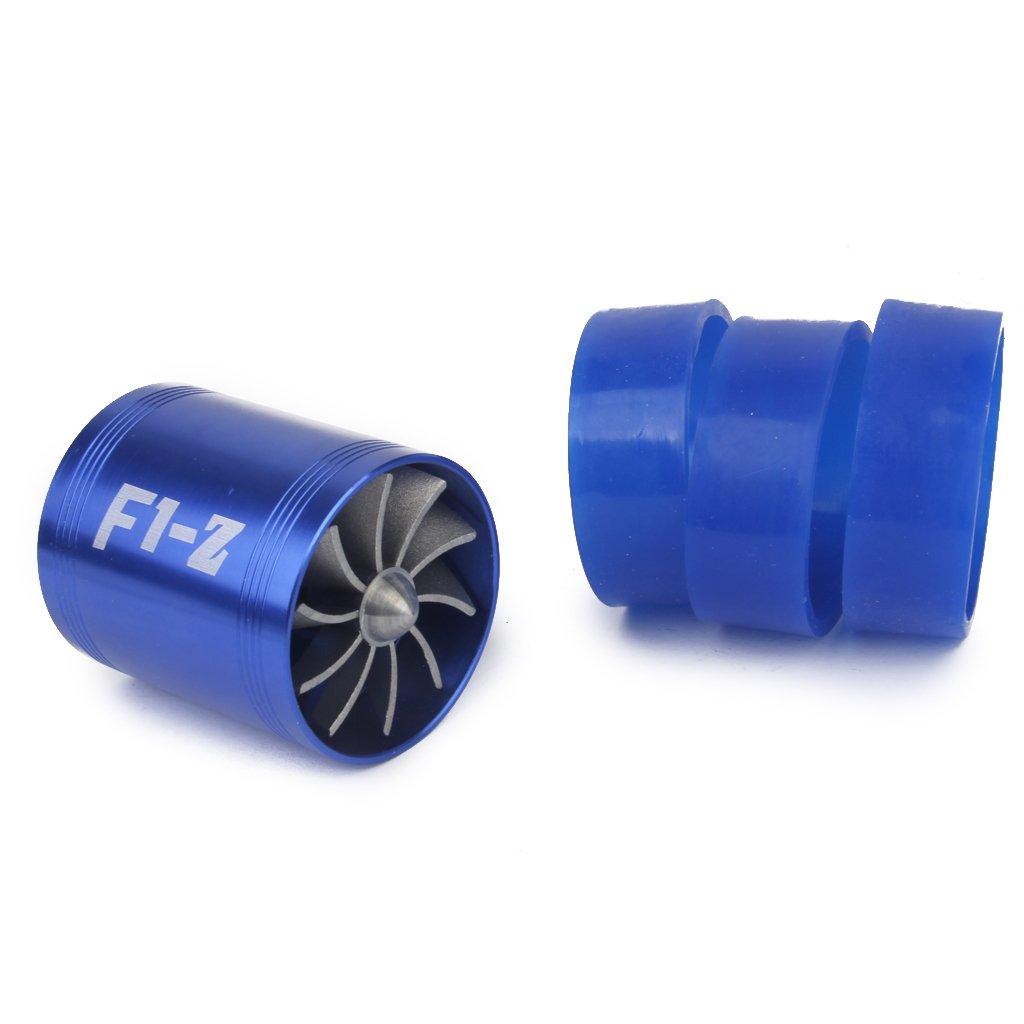 Turbina Ventilador De Combustible F1-z Protector Doble Turbo Aire Helice Eco Generico