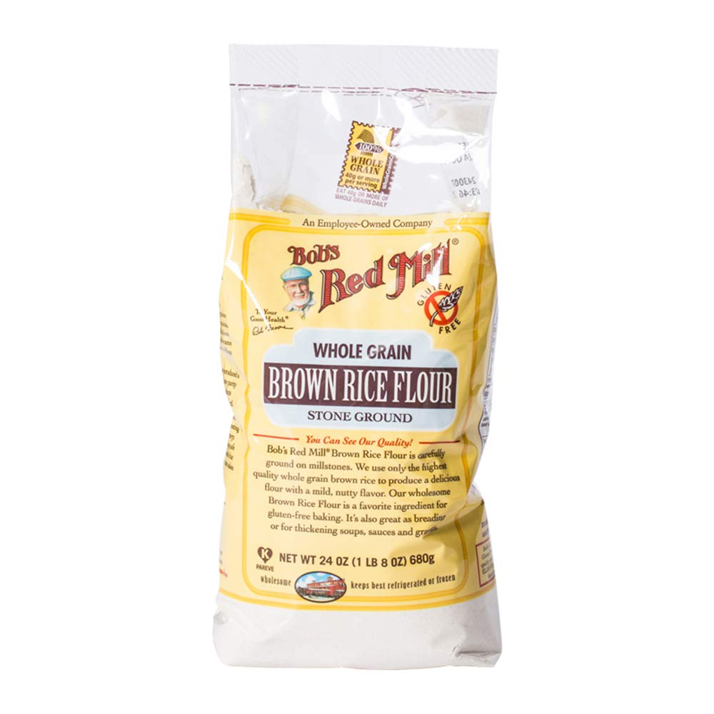 Bob's Red Mill Gluten Free Brown Rice Flour, 24-ounce by Bob's Red Mill